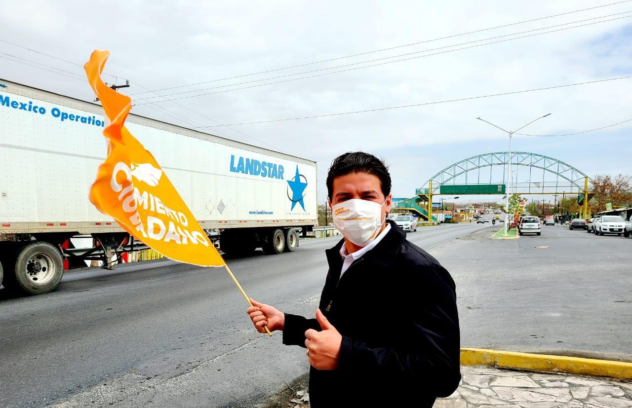 Carretera Gloria-Colombia detonarán importaciones y exportaciones de NL: Samuel