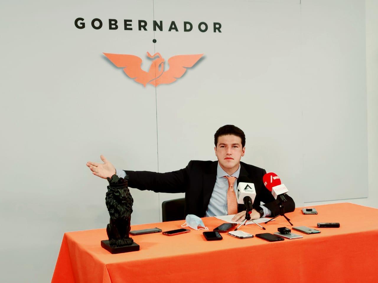Presionará MC en el Senado y San Lázaro para ayudar a Nuevo León ante incendios: Samuel