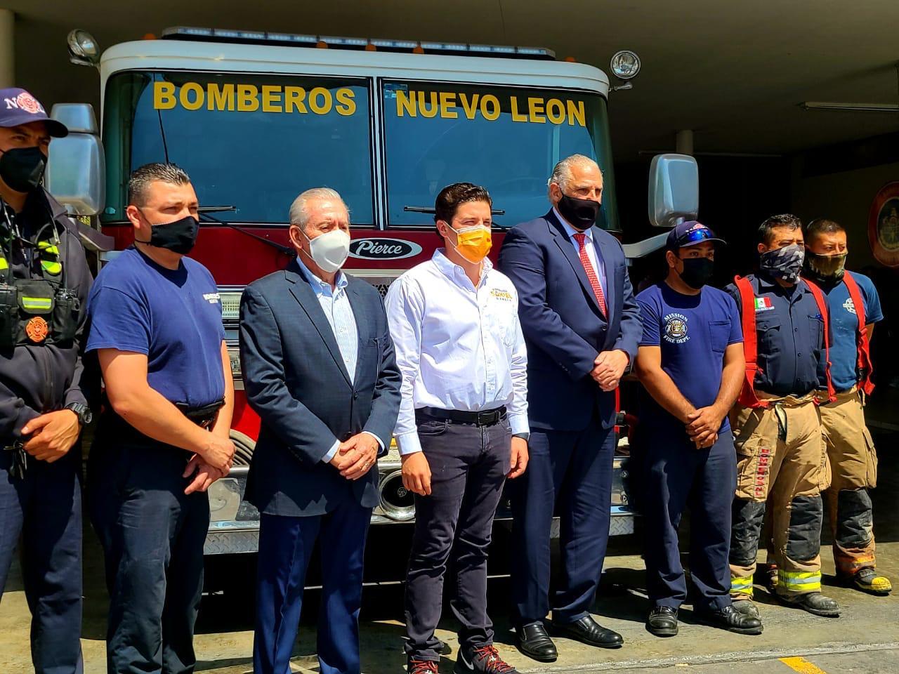 Samuel garantiza rescate de 80 mdp a Bomberos por año