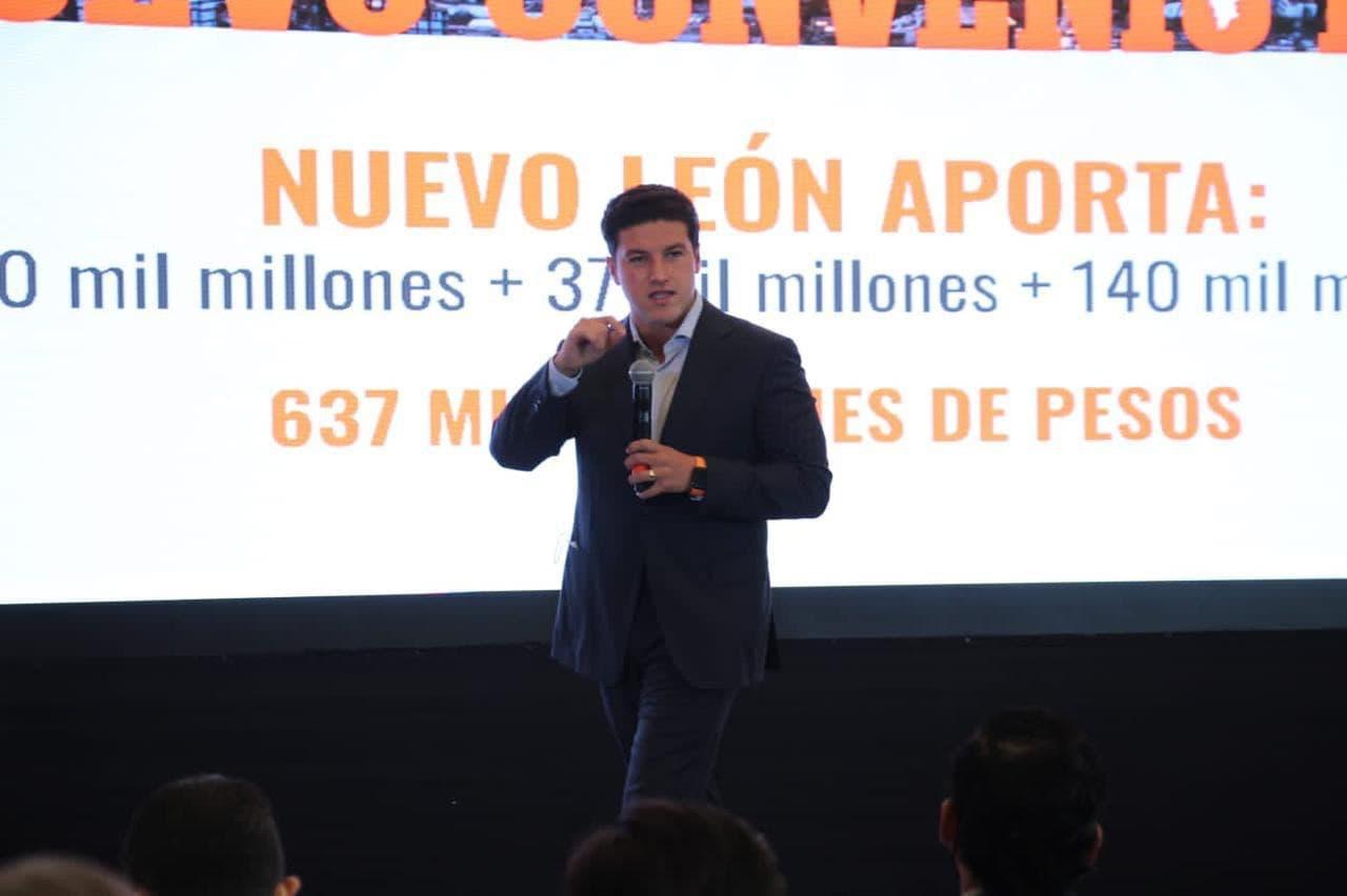 Samuel presenta Plan de Gobierno para un nuevo Nuevo León