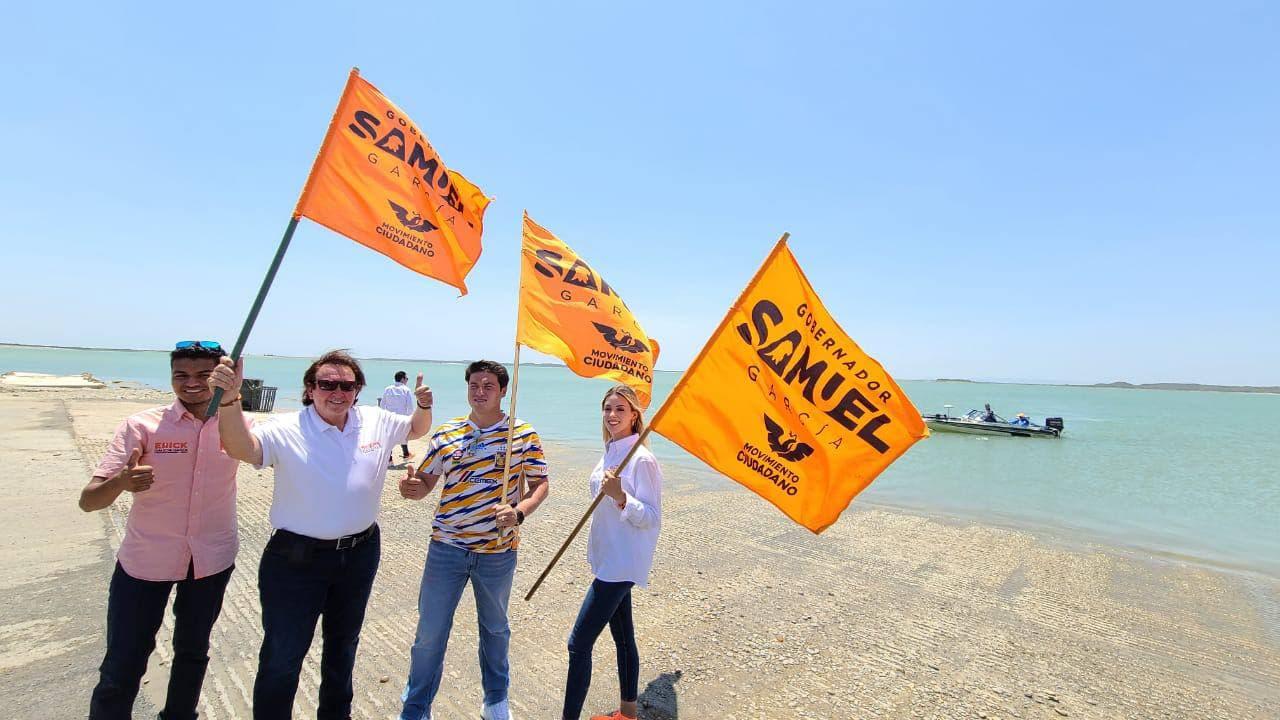 Candidatos de MC arman bloque a favor del agua de NL