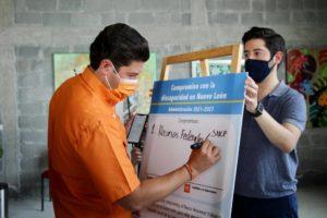 Firmamos compromisos con la discapacidad en Nuevo León Samuel García