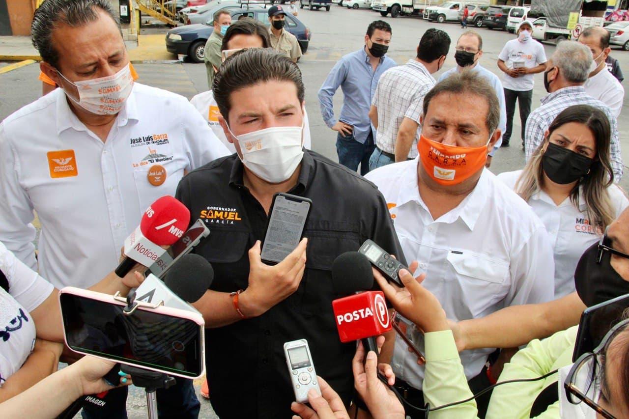 Samuel niega vínculo con AMLO; denunciará por quinta vez a Adrián por compra del voto